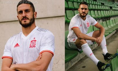 Spain EURO 2020 adidas White Away 2021 2022 Football Kit, Soccer Jersey, Shirt, Camiseta, Equipacion