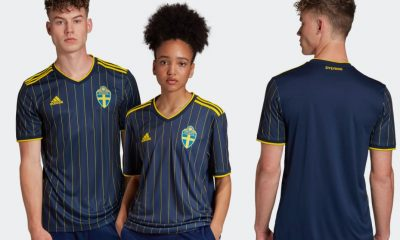 Sweden EURO 2020 2021 2022 adidas Away Football Kit, Soccer Jersey, Shirt, Matchtröja