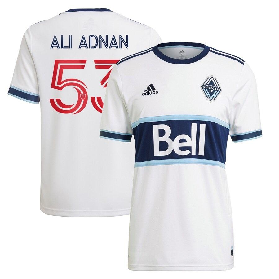 Vancouver Whitecaps 2021 adidas Hoop Home Soccer Kit, Football Shirt, MLS Jersey