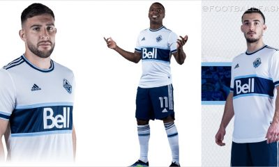 Vancouver Whitecaps 2021 adidas Hoop Home Soccer Kit, Football Shirt, MLS Jersey