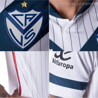 Vélez Sarsfield 2021 Kappa Home Football Kit, Soccer Jersey, Shirt, Camiseta de Futbol