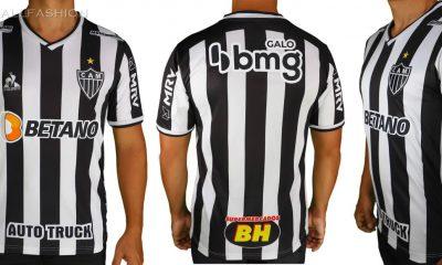 Atlético Mineiro 2021/22 le coq sportif Home Football Kit, 2021 Soccer Jersey, 2022 Shirt, 2021-22 Camisa