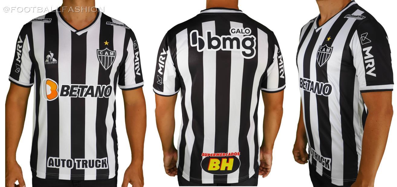 Atlético Mineiro 2021/22 le coq sportif Home Kit - FOOTBALL FASHION