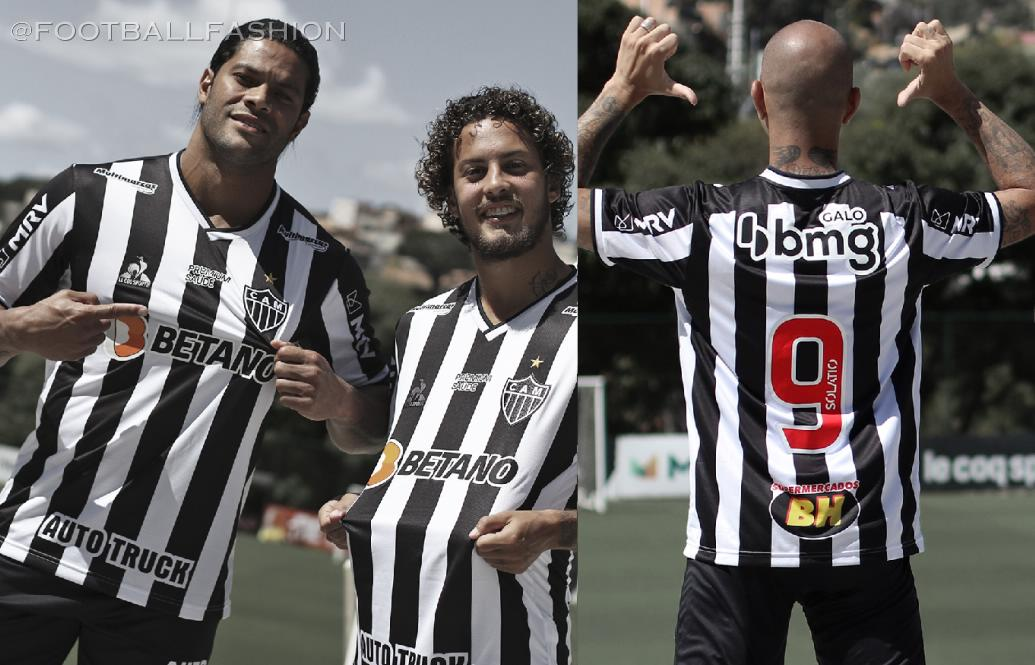 Atlético Mineiro 2021/22 le coq sportif Home Football Kit, 2021 Soccer Jersey, 2022 Shirt, 2021-22 Camisa