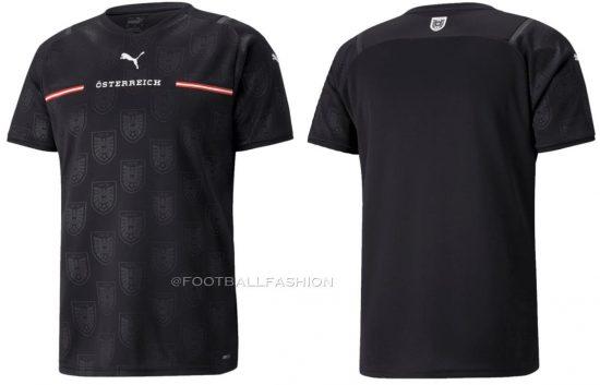 Austria 2021 2022 PUMA Home Football Kit, 2021-22 Soccer Jersey, 2021/22 Shirt, Österreich Trikot