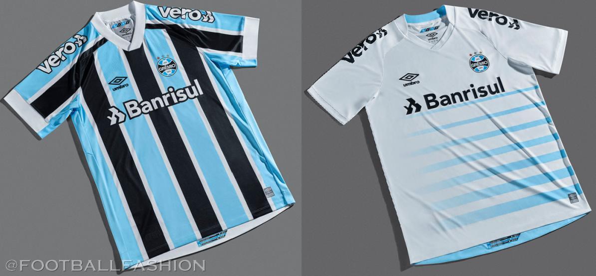 Grêmio 2021/22 Umbro Home and Away Kits - FOOTBALL FASHION