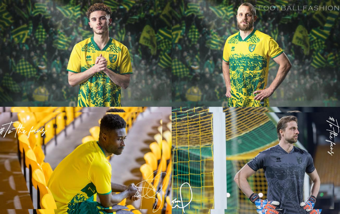 Norwich City To the Fans Special Edition 2021 Football Kit, 2021/22 Soccer Jersey, 2021-22 Shirt