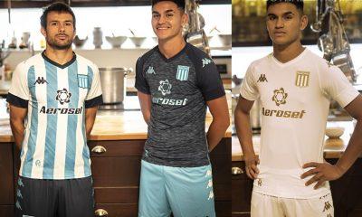 Racing Club 2021 2022 Kappa Home, Away and Third Football Kit, 2021-22 Shirt, 2021/22 Soccer Jersey, Camiseta de Futbol