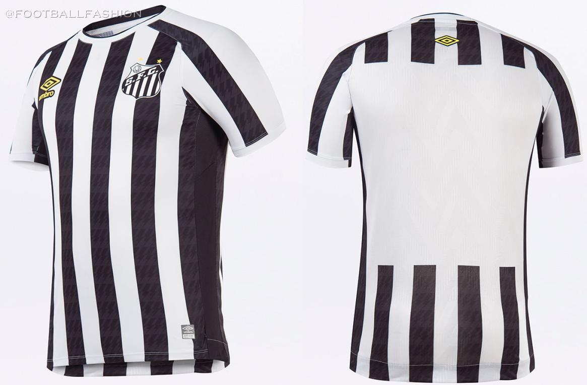 Santos FC 2021/22 Umbro Home and Away Kits - FOOTBALL FASHION