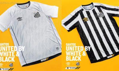 Santos FC 2021 2022 Umbro Home and Away Football Kit, 2021-22 Soccer Jersey, 2021/22 Shirt, Camisa