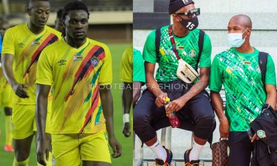 Zimbabwe AFCON 2021 2022 Umbro Home and Away Football Kit, 2021/22 Shirt, 2021-22 Soccer Jersey