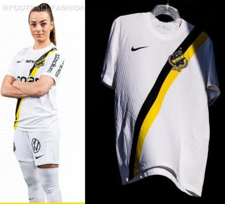 AIK Fotboll 2021 2022 Nike Away Soccer Jersey, 2021/22 Shirt, 2021-22 Kit, Matchtröjan