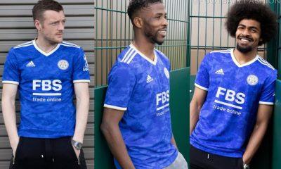 Leicester City 2021 2022 adidas Blue Home Football Kit, 2021/22 Soccer Jersey, 2021-22 Shirt