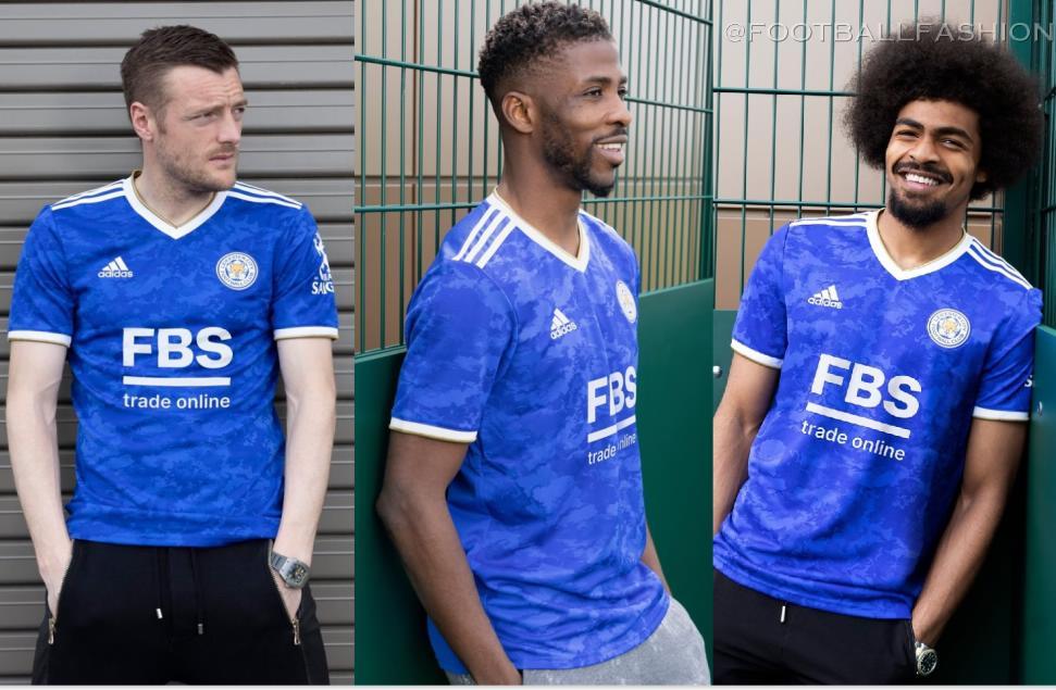Leicester City 2021/22 adidas Home Kit - FOOTBALL FASHION