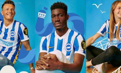 Brighton & Hove Albion 2021 2022 Nike Home Football Kit, 2021/22 Soccer Jersey, 2021-22 Shirt