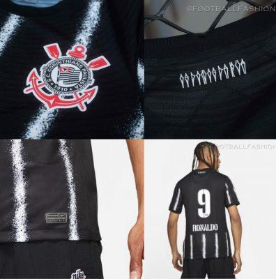 Corinthians 2021 2022 Nike Away Football Kit, 2021/22 Soccer Jersey, 2021-22 Shirt, Camisa 21/22