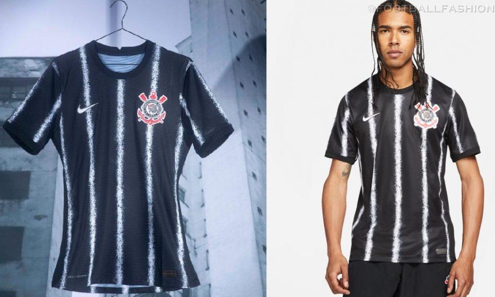 Corinthians 2021/22 Nike Away Kit - FOOTBALL FASHION