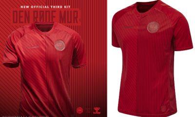 Denmark 2021 2022 hummel Third Football Kit, 2021/22 Soccer Jersey, 2021-22 Shirt, landsholdstrøje - hjemmebane, udebane