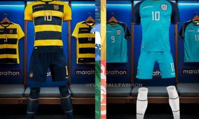 Ecuador Copa America 2021 2022 Marathon Home and Away Football Kit, 2021/22 Soccer Jersey, Camiseta de Futbol, 2021-22 Shirt