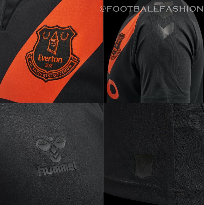 Everton FC 2021 2022 hummel Away Football Kit, 2021-22 Soccer Jersey, 2021/22 Shirt, Camiseta 21/22