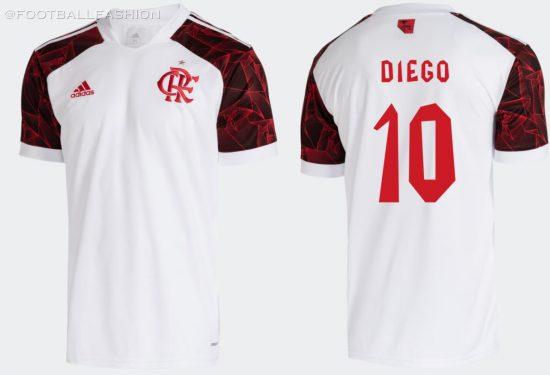 CR Flamengo 2021 2022 adidas Away 2021-22 Soccer Jersey, Football Kit, 2021/22 Shirt, Camisa II, Camiseta
