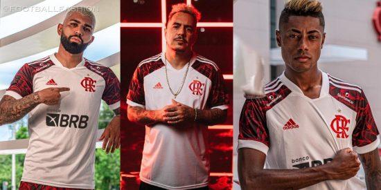 Flamengo 2021/21 adidas Away Kit - FOOTBALL FASHION