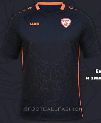 North Macedonia 2021 2022 Jako EURO 2020 Home, 2021-22 Away and 2022-22 Third Football Kit, 21-22 Shirt, 21/22 Soccer Jersey