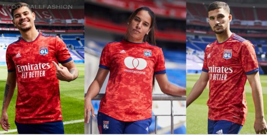 Olympique Lyon 2021 2022 adidas Football Kit, 2021-22 Soccer Jersey, 2021/22 Shirt, Camisa, Maillot