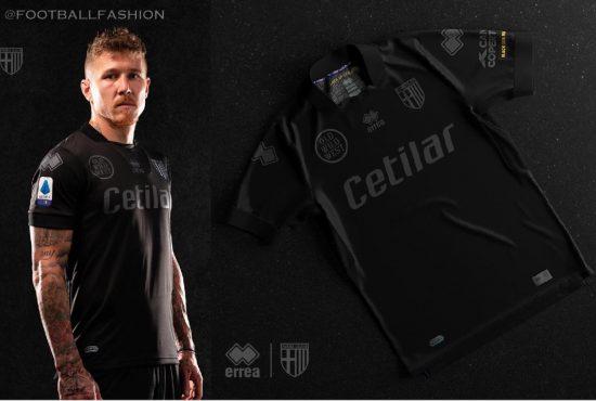 Parma Calcio 2021 Black Lives Matter Soccer Jersey, Football Shirt, Kit, Gara, Maglia