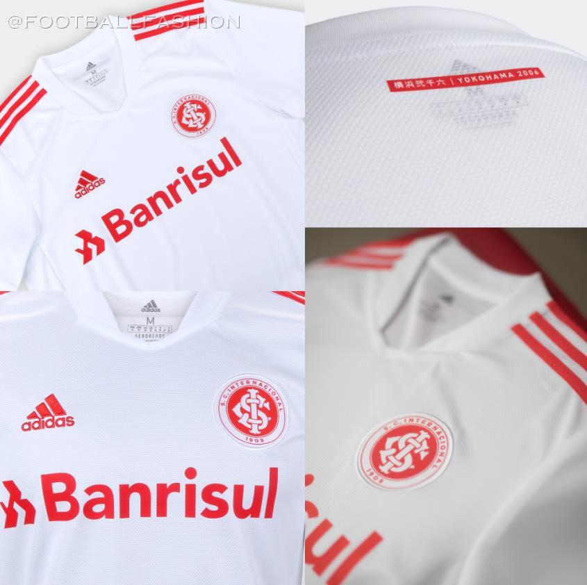 SC Internacional 2021/22 adidas Away Kit - FOOTBALL FASHION