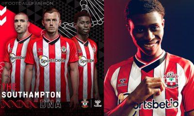 Southampton FC 2021 2022 hummel Home Football Kit, 2021-22 Soccer Jersey, 2021/22 Shirt, Camiseta 21/22