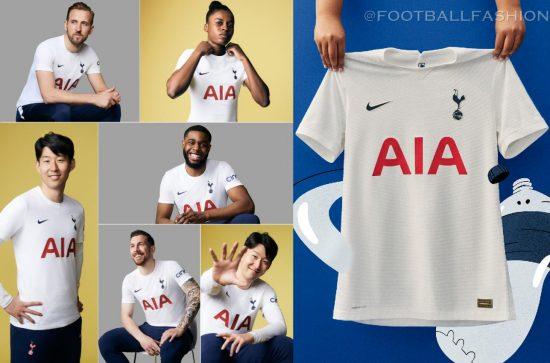 Tottenham Hotspur 2021 2022 White Nike Home Football Kit, 2021-22 Soccer Jersey, 2021/22 Shirt, Camiseta, Camisa, Maglia, 21-22 Trikot