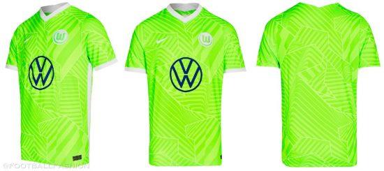 VfL Wolfsburg 2021 2022 Nike Home and Away Football Kit, Soccer Jersey, 2021-22 Shirt, 2021/22 Trikot