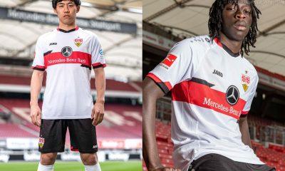 VfB Stuttgart 2021/22 Jako Home Football Kit, 2021-22 Soccer Jersey, 2021 Shirt, 2022 Trikot
