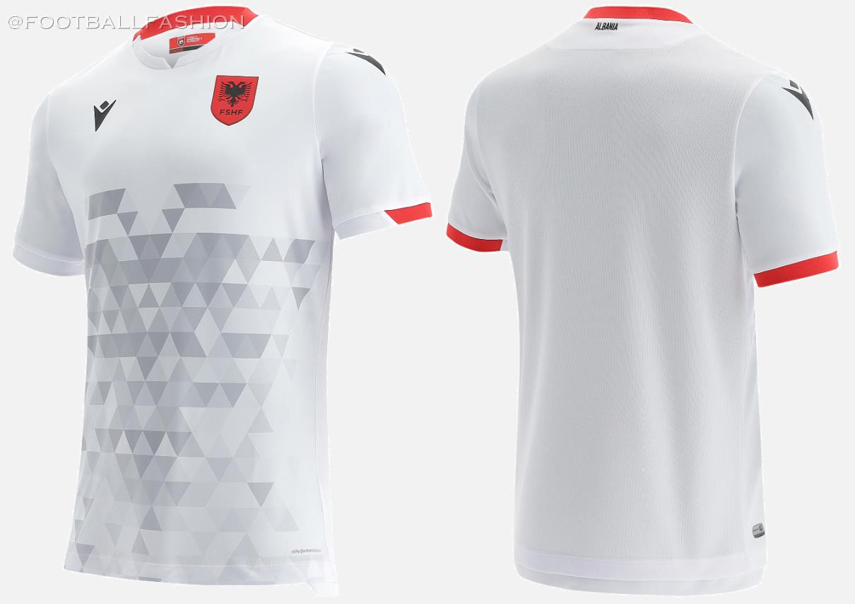 Albania 2021 2022 Macron Home, Away and Third 2021-22 2021/22 Football Kit, 21-22 Soccer Jersey, 21/22 Shirt, Bluza, Uniforma