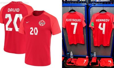 Canada 2021 2022 Nike Home, Away and Third Soccer Jersey, 2021-22 Football Kit, 2021/22 Shirt