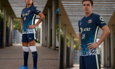 Club América 2021 2022 Nike Blue Away Soccer Jersey, 2021-22 Football Shirt, 2021/22 Kit, Camiseta de Visita de Futbol 21/22