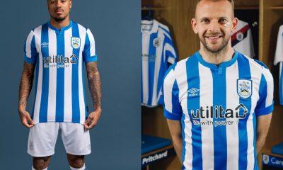 Huddersfield Town 2021 2022 Umbro Home Football Kit, 2021-22 Shirt, 2021/22 Soccer Jersey