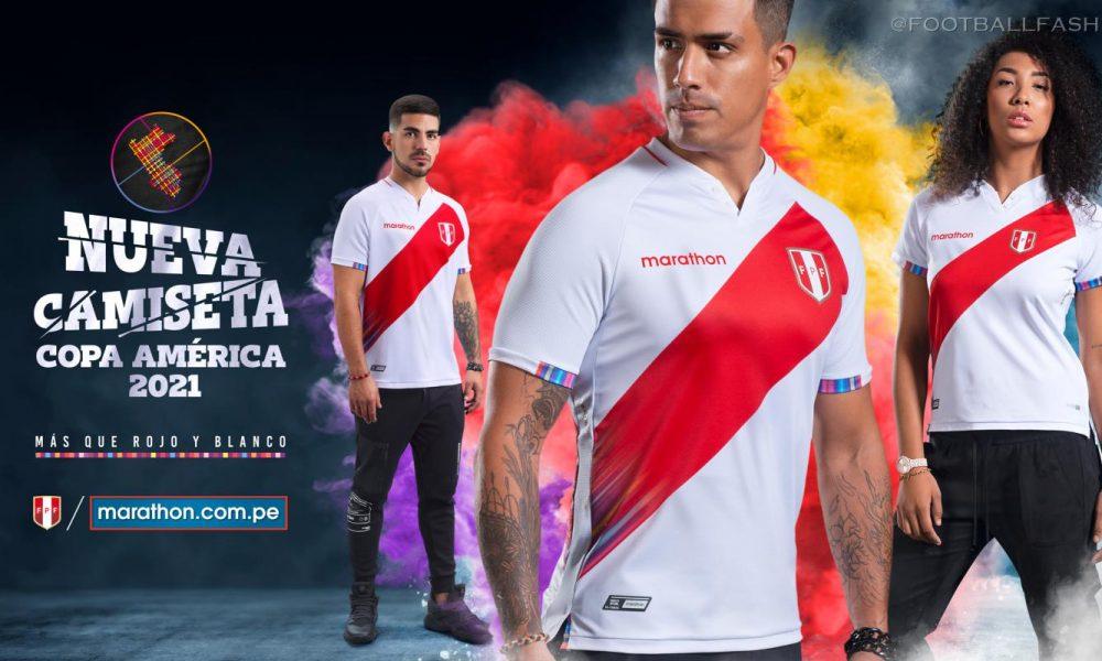 Peru 2021 2022 Copa América Marathon Home and Away Soccer Jersey, 2021-22 Football Kit, 2021/22 Shirt, Camiseta de Futbol 21/22