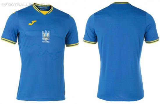 Ukraine EURO 2020 2021 2022 Joma Home, Away and Third Football Kit, 2021-22 Shirt, 2021/22 Soccer Jersey