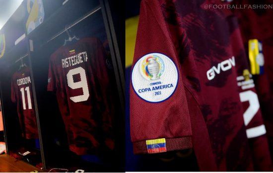Venezuela Copa America 2021 2022 Givova Home and Away Football Kit, 2021/22 Soccer Jersey, 2021-22 Shirt, Camiseta de Futbol 21/22