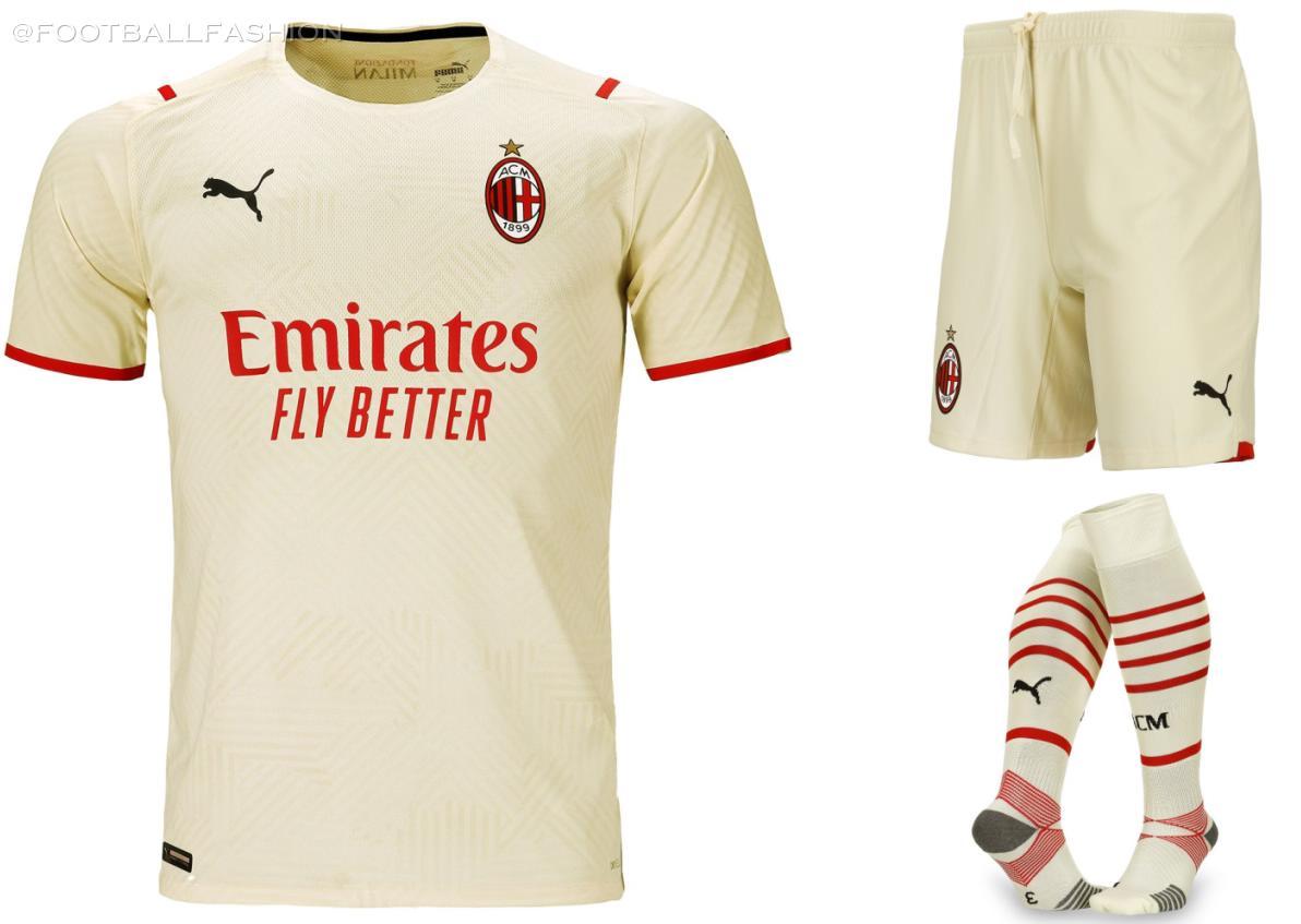 AC Milan 2021 2022 PUMA Away Football Kit, 2021/22 Soccer Jersey, 2021-22 Shirt, Maglia, Camiseta, Camisa, Trikot