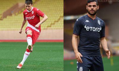 AS Monaco 2021 2022 Kappa Home and Away 2021/22 Football Kit, 2021-22 Soccer Jersey, Maillot 21-22