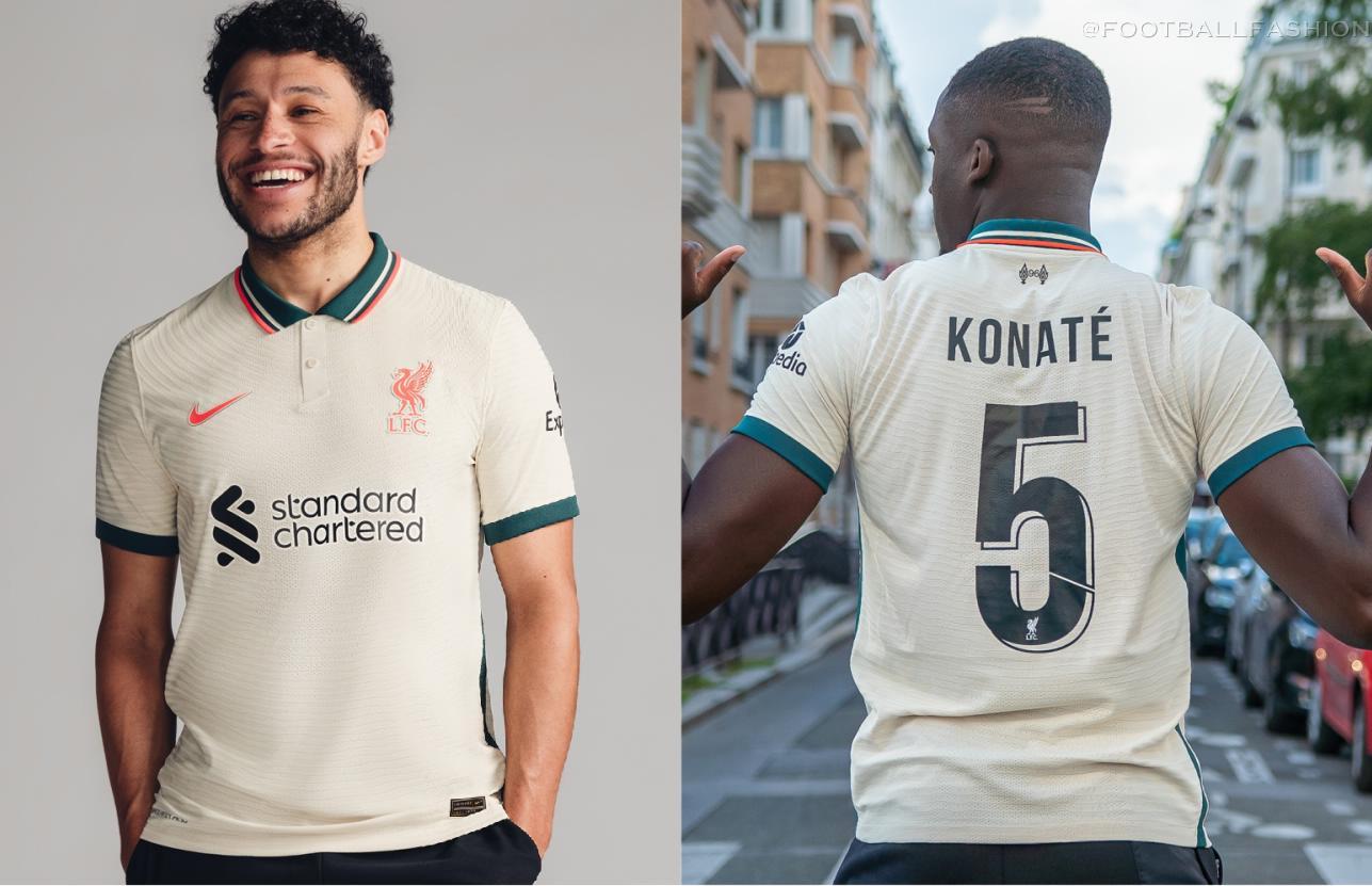 Liverpool FC 2021/22 Nike Away Kit - FOOTBALL FASHION