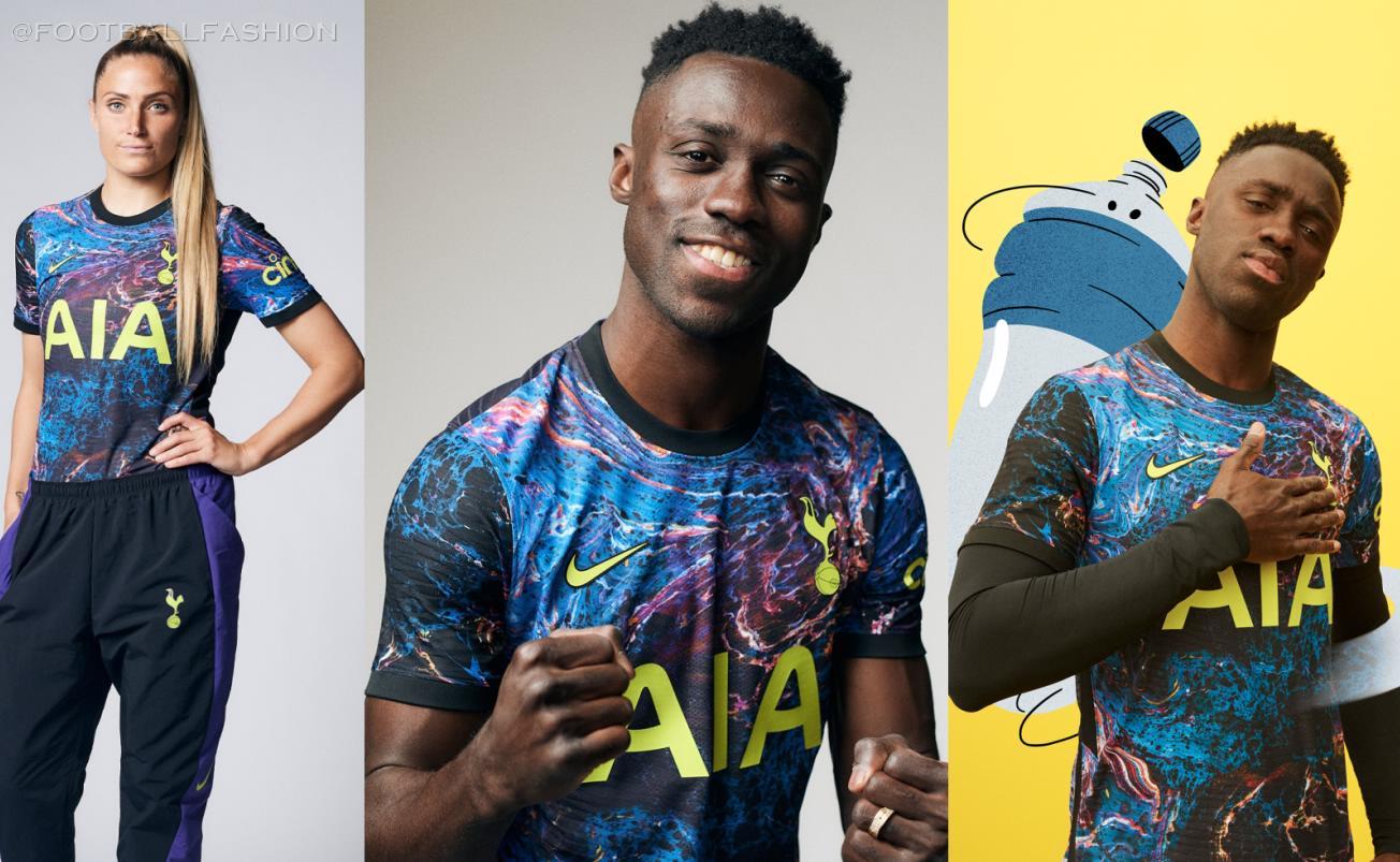 Tottenham Hotspur 2021 22 Nike Away Kit Football Fashion