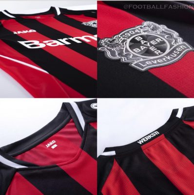 Bayer 04 Leverkusen 2021/22 Jako Home Kit - FOOTBALL FASHION