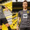 Borussia Dortmund 2021 2022 PUMA Black Away Football Kit, 2021-22 Soccer Jersey, 2021/22 Shirt, Trikot, Auswärtstrikot 21/22