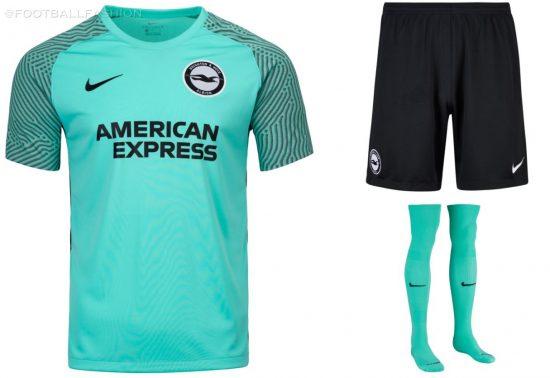 Brighton & Hove Albion 2021 2022 Nike Away Football Kit, 2021/22 Soccer Jersey, 2021-22 Shirt