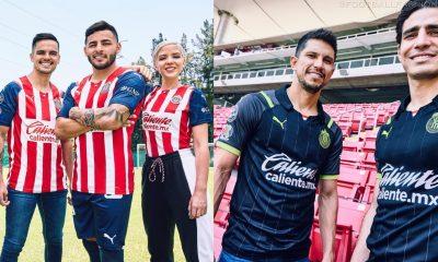 Chivas de Guadalajara 2021 2022 PUMA Home and Away Soccer Jersey, 2021-22 Shirt, 2021/22 Football Kit, Camiseta de Futbol 21-22, Equipacion 21/22