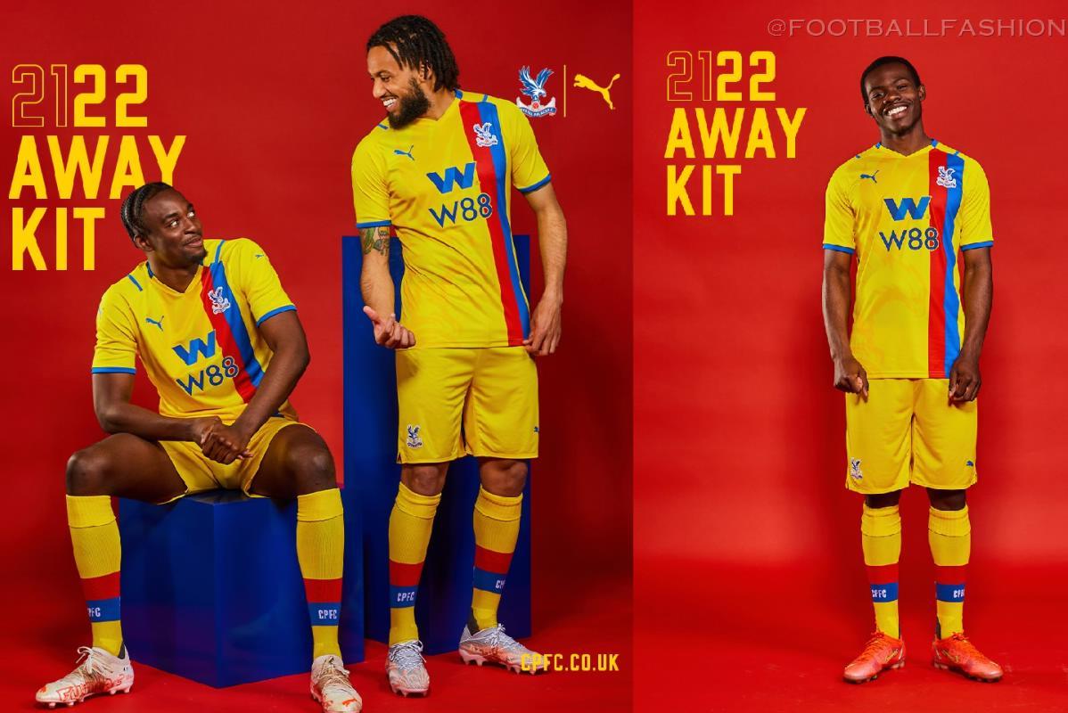 Crystal Palace 2021/22 PUMA Away Kit - FOOTBALL FASHION
